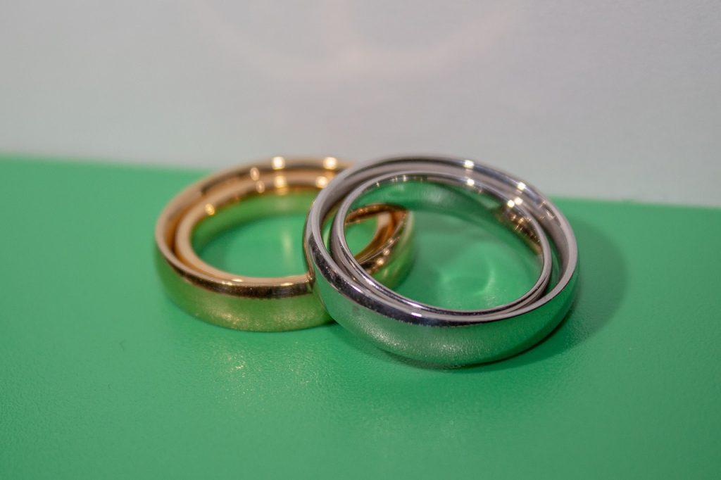 אבעת כסף וטבעת זהב