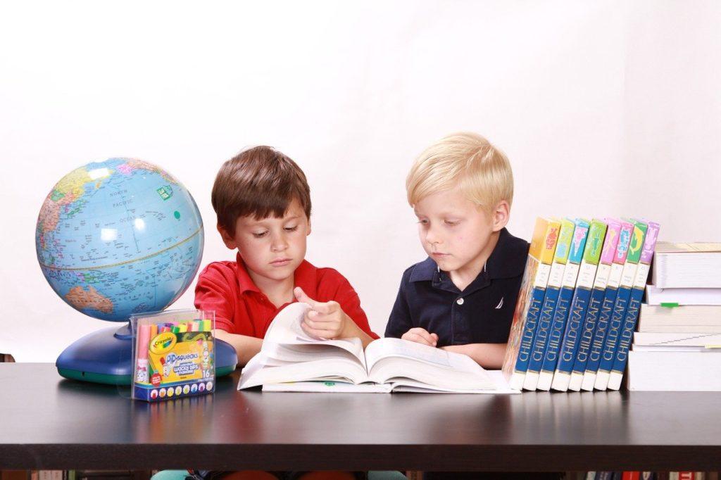 ילדים לפני מבחן
