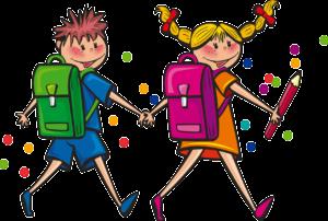 ילדים עם תיק